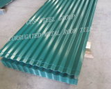 África techo de metal color hoja/PPGI Hoja del techo de acero corrugado