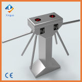 Ce personalizado Dustproof Stainless Steel High Turnstile Tripod Turnstile com RFID Reader