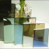 4mm-12mmの上塗を施してあるガラス反射ガラス