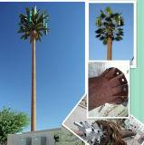 Tuyau unique tour de l'arbre d'antenne déguisée