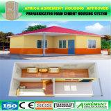 Do Ce móvel Prefab pré-fabricado da casa das casas de campo da praia alta qualidade pré-fabricada