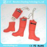 カスタム長いブートの靴の形8GB USBのフラッシュ駆動機構(ZYF1052)
