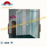 Einfache und schnelle Installation installierte justierbare ausgeglichenes Glas-Dusche-Tür
