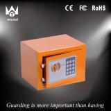 Mini rectángulo seguro colorido seguro electrónico para el hogar y el asunto