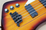 Musique de Hanhai/guitare basse électrique gauchère avec 4 chaînes de caractères