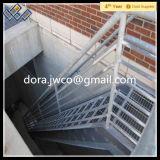 ISO9001direct 공장에 의하여 직류 전기를 통하는 강철 층계 보행 삐걱거리 금속 층계 보행