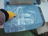 DHL automático Postal Cost HDPE Mail Bag Making Machinery com Pocket