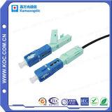 Connettore veloce di fibra ottica per il collegamento di FTTH