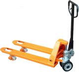 Niedriger Preis-hydraulischer Handladeplatten-LKW-Gabelstapler China-2ton 2.5ton 3ton
