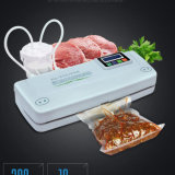 Sellador manual práctico del vacío del alimento fresco de la bolsa de plástico Dz300