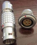 小さい円のプッシュプルコネクター