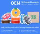 Le meilleur fournisseur de filament d'imprimante de PLA 3D d'ABS de 1.75mm 3mm 1kg 5kg pour l'impression 3D
