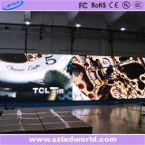 Aluguer de interior/exterior LED Die-Casting sinal eletrônico para publicidade do mostrador integrado (500x1000)