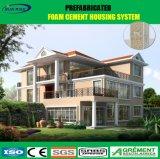 가벼운 강철 구조물 모듈 별장 홈 디자인 Prefabricated 집