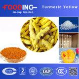 Fromturmeric 루트에서 음식 Suplyment 자연적인 노란 심황 정확한 95%Curcumin