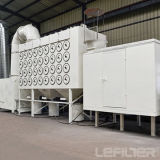Efficicncyの高い製造業者の縦のろ過材の集じん器