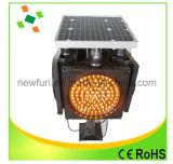 Lumière d'avertissement de circulation stroboscopique solaire Lumière de sécurité de circulation LED