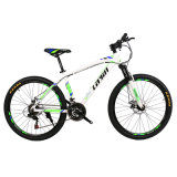 Велосипед горы алюминиевого сплава тарельчатого тормоза скорости начального уровня 21
