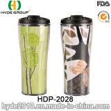 Tasse à café manuelle à double mur avec papier inséré (HDP-2028)