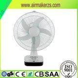 HOME de venda quente do tipo Using o ventilador recarregável da mesa 12inch