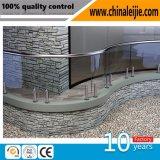 Qualitäts-Edelstahl-Glasbalustrade-Handlauf-Geländer