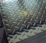 중국 공장은 검수원 보행 알루미늄 격판덮개를 반대로 건너뛴다