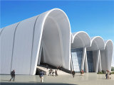 Doppio Curved Aluminum Panel per Canopy o Exterior Facade