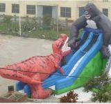 Scimpanzè mobile gonfiabile utilizzato nella pubblicità, regali, mascotte (CT-016) del modello del fumetto