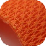 Kintted tejido de malla de tejido de poliéster para el deporte zapatos o trolleys
