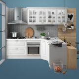 木製PVC膜の食器棚