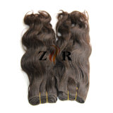Les cheveux humains ondulés de cheveu péruvien normal de Vierge tissent