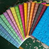 Adhesivos de pared tridimensional en 3D de espuma de la luz de mosaico de ladrillos decorativos