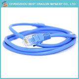 Eia Tia 568b 또는 568A 기준을%s 가진 컴퓨터 통신망 케이블 RJ45 접속 코드