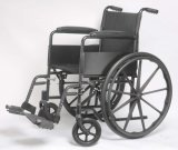Manuale d'acciaio, economia, sedia a rotelle, piegatura, (YJ-K102-1)