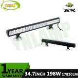barra ligera campo a través de 35inch 198W 2rows LED con el CREE LED