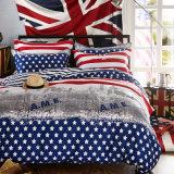 米国式の贅沢なデザインによって印刷される綿の寝具