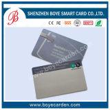 Carte à puce sans contact RFID en plastique PVC de haute qualité