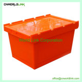 50kgs 무겁 의무 Turnover Stacking Packaging Plastic Moving Containers