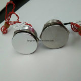 CER RoHS 12mm Ring geleuchteter piezo Schalter-Metallschalter