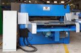 Hg-B100t Hydraulic Both Feeding PLC Máquina de corte automática de PVC