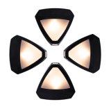 Solarim freien LED sechseckiges Wand-Licht der weinlese-Wand-Lampen-