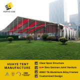 Huge CLEAR splinter Exhibition Tent for fair and trade show