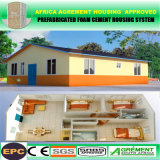 Casa prefabbricata mobile della Camera modulare prefabbricata del contenitore nel cantiere