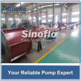 Tiefe Vertiefungs-lange Welle-vertikale Turbine/mischte Fluss-versenkbare Pumpe für Bewässerung
