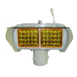 Bernsteinfarbige Solarwarnleuchte für Straßen-Überfahrt-Gebrauch