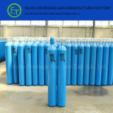 Oxígeno del cilindro de gas con el certificado de la ISO 9809