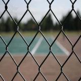 Barriera di sicurezza rivestita galvanizzata alta qualità di collegamento Chain del PVC