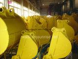 Peças de maquinaria da construção de Caterpiller Volvo KOMATSU da cubeta de lama da escavadora da máquina escavadora