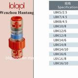 Conetor testado 100% de Microduct do bloco do gás/água (LBK)