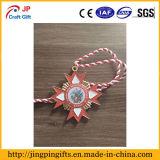 La aleación modificada para requisitos particulares alta calidad del cinc se divierte la medalla